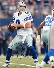 TONY ROMO-Dallas Cowboys QUARTERBACK-NFL-SIGNED AUTOGRAFO RISTAMPA