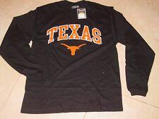 UT University TEXAS  LONGHORNS Long Sleeve T-Shirt NEW TAG sz...  LARGE