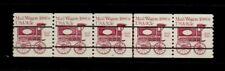 US #1903a Mail Wagon Precancel PNC5 Plate 6, Gap 2L (9655)