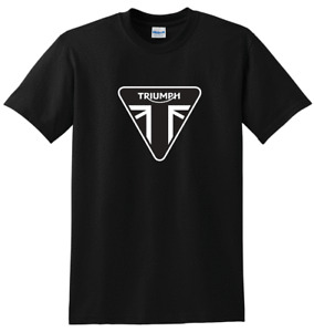 Triumph motorbike t shirt, black, top quality, FREE P&P