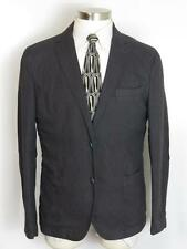 SPONTINI Casual Sport Coat 42R 42 Charcoal - Handmade in ITALY $495