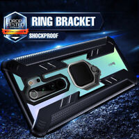 Armor Rugged Ring Holder Hard Case For Xiaomi Redmi Note 9S 8T 8 Pro Poco X3 NFC