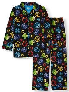 Marvel Avengers Boys Sleepwear Shirt & Pants SMALL (6-7) Endgame NEW