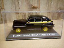 Modellino Die Cast Taxi Ford Fordor Sedan Istanbul 1947 1/43