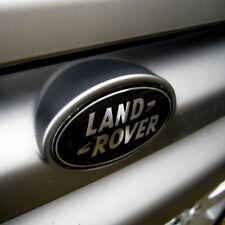 Authentique Range Rover L322 Noir + argent suralimenté avant Grille Badge VOGUE Logo
