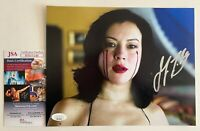 Jennifer Tilly Autographed Tiffany Bride Of Chucky 8x10 Photo Signed JSA COA