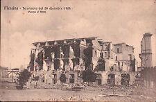 CARTOLINA DI MESSINA - TERREMOTO DEL 28 DICEMBRE 1908 PIAZZA D'ARMI   C5-39