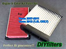 AF5669 C25877 Engine and AC Cabin Air Filter For 2007-2012 Nissan Versa