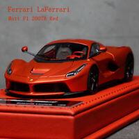 BBR Deluxe 1:43 Scale Ferrari LaFerrari Matt F1 2007B Red Limited Car Model