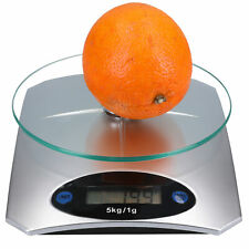 Digitale Küchenwaage Haushaltswaage Küchen Waage Digitalwaage 5kg / 1 Gramm