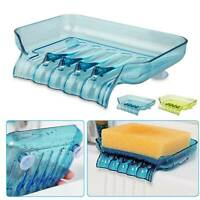 Bathroom Shower Soap Box Dish Storage Plate Tray Holder Case Container