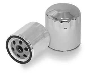 S & S Cycle Oil Filter Chrome #31-4104