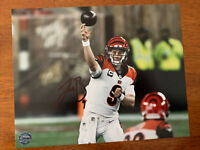 Joe Burrow Cincinnati Bengals QB Hand Signed Autographed 8x10 Photo W/COA LSU