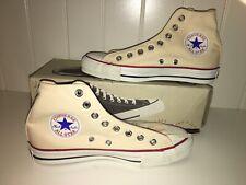 Nib Vintage Converse Made In Usa Hi All Star Chuck Taylor Unbleached 6.5