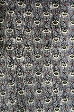 "Roundtree & Yorke Men's Tie, NWT Gray Small Print, Silk, Hand Sewn, 58"""