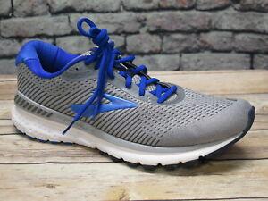 Men's Brooks Adrenaline 20 Grey/Blue Running    *110307051