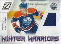 2010-11 Zenith Winter Warriors Materials #TH Taylor Hall Jersey - NM-MT