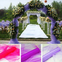 """25 Yards Organza Fabric 60"""" Wide High Quality Sheer Draping Party Wedding USA"""