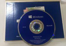 Windows 8.1 Pro 64 Bit DVD + Product Key Full English Version NEW Sealed