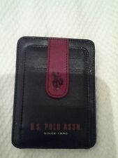 US polo assn men's card holder