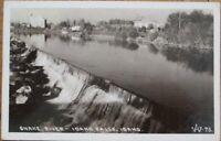 Idaho Falls, ID 1939 Realphoto Postcard: 'Snake River'