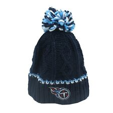 Tennessee Titans NFL Kids Youth Girls One Size Fits Most Pom Knit Beanie New Tag