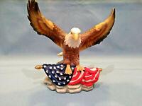 Weißkopfadler  Adler Skulptur 17cm hoch x 17cm breit