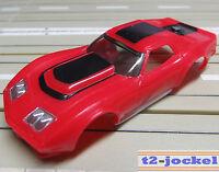 Para H0 Coche Slot Racing Maqueta de Tren Corvette Carrocería