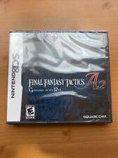 New listing Final Fantasy Tactics A2: Grimoire of the Rift (Nintendo Ds, 2008)