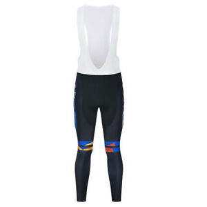 2021 New Mens Cycling Jersey Long Bike Bib Pants Set Team Riding Uniform Shirts