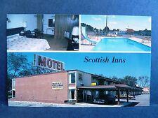 Postcard GA Tifton Scottish Inns Motel Hotel