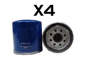 4X Oil Filter fits Z663 for Holden Calais VT 5.7 V8 1999 - 2000