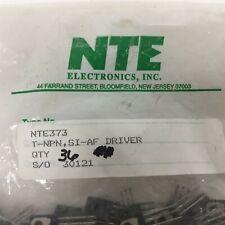 6 Nte Nte373 Silicon Npn Transistor Audio Amplifier Driver Lot Of 6