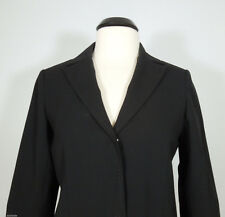 BCBG MAX AZRIA Black Wool Slim Fit Blazer size 10