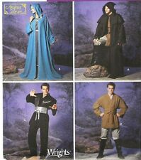 STAR WARS Jedi Cloak Tunic Costume Sewing Pattern XS-XL Simplicity 5840