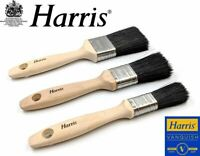 Harris Vanquish Paint Brush Set 3 Piece Professional Decorating Quality Brushes