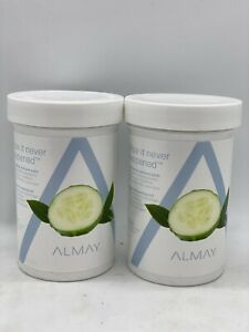 *2 PK* Almay Longwear & Waterproof Eye Makeup Remover Pads 120ct (240 Total)