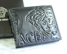 Men's Leather wallet , New with Box #SV205