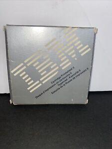 IBM CARTRIDGE PRINTWHEEL II