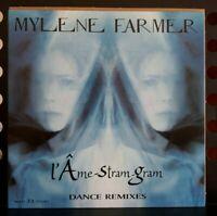 Maxi 33t  Mylene Farmer - L'âme Stram Gram - Dance Remixes 1999 Jamais Joué M-/M