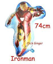 Ironman Foil Balloon 74cm Iron Man Superhero Avengers Helium Decoration