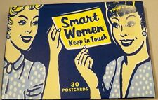 USED (LN) Smart Women Keep in Touch: 23 of 30 postcards by Julie Hellwich