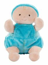 North American Bear Co Boy Doll Cloth Jeans Rosy Cheeks Blue Baby Stuffed 0+ NEW