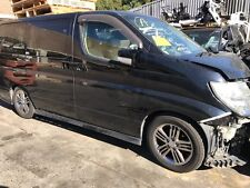 Nissan Elgrand E51 Rider Series 2 vehicle wrecking for parts/spares