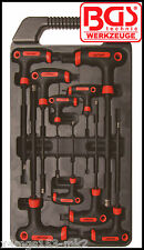 BGS - T Handle - T STAR TORX - 9 Pcs Set - T10 - T50 - 145 - 280 mm - 7880
