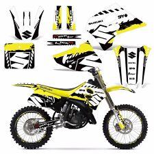 Decal Graphic Kit w/ Backgrounds Suzuki RM125 RM 125/250 RM250 Dirt Bike 93-95 W