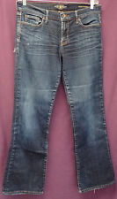 "LUCKY BRAND sz 10/30 ""SWEET N' LOW"" ZIPPER FLY BLUE JEANS  (#397-2)"