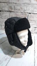 Mens Dockers Trapper Hat Size Small Medium Charcoal Grey bab7d26bd912