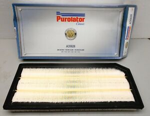 A35826 Purolator Engine Air Filter fits AUDI, VW models in chart
