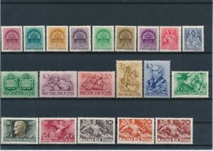 D143099 Hungary Nice selection of MH stamps